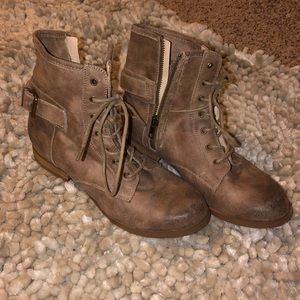 Brown Rugged Looking Boots